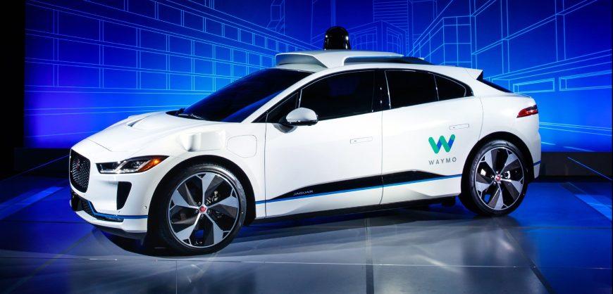 Jaguar I-Pace Waymo autonomous vehicle