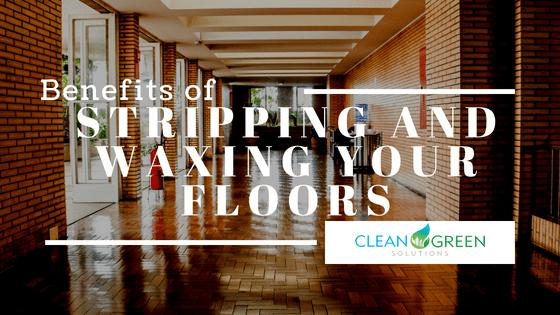 waxing floors