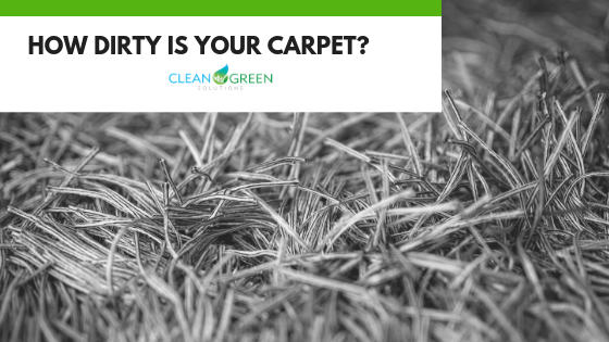 How dirty is your carpet