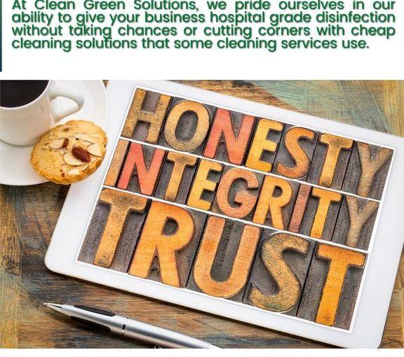 honesty integrity trust