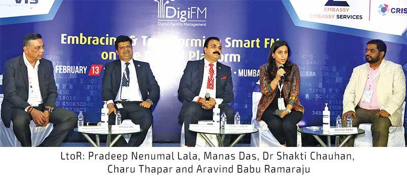 LtoR Pradeep Nenumal Lala, Manas Das, Dr Shakti Chauhan, Charu Thapar and Aravind Babu Ramaraju