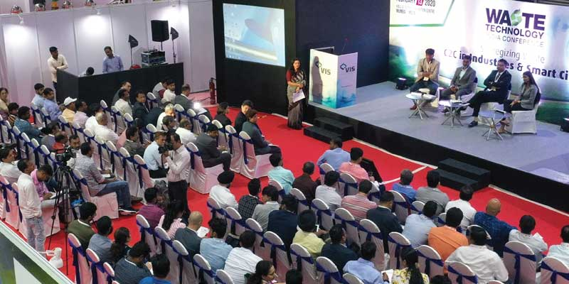 Crowd at Waste Technology India Conference