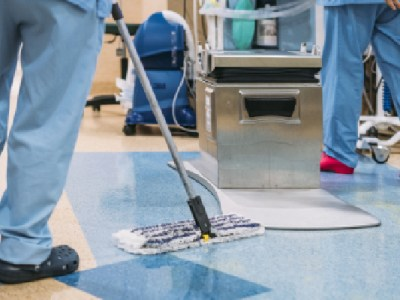 Industry supports cleaning of Covid wards