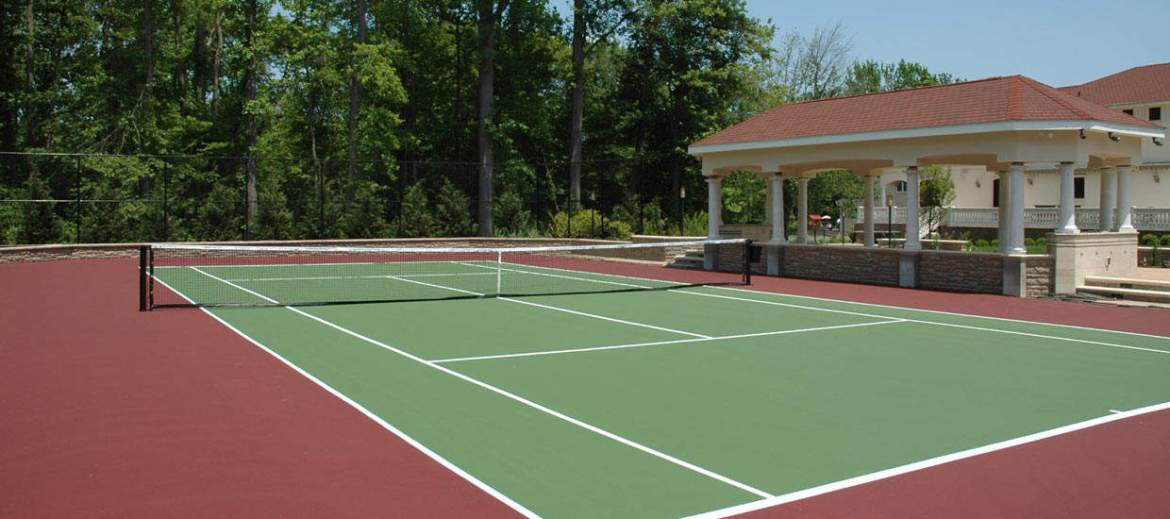 image of Tennis Court Cleaning company www.cleaning-service.uk.com