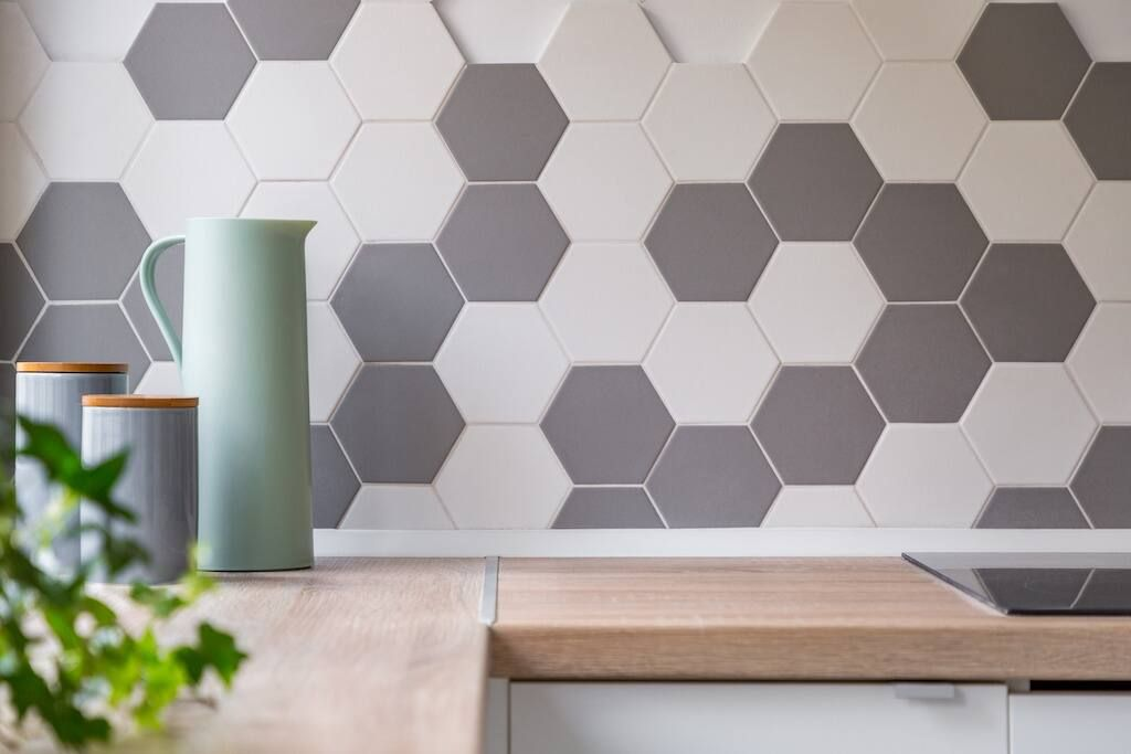 how to paint tile in bathroom kitchen