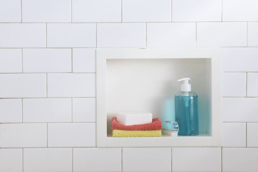 shower remove soap scum cleanipedia