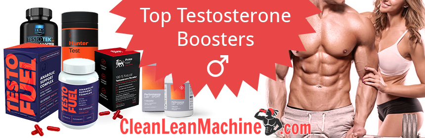 Top 5 Testosterone Boosters for 2018 - TestoFuel, Prime Male, Hunter Test, TestoTEK - Performance Lab Sport T-Booster