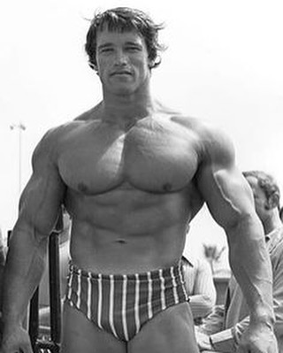 Arnold Schwarzenegger beach body ready all year round