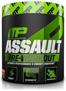 MusclePharm Assault Pre Workout - Strength and Energy