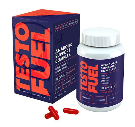Testosterone Booster - TestoFuel box bottle