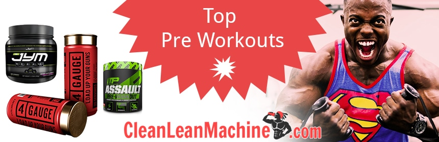 Top 5 Pre Workouts for 2018