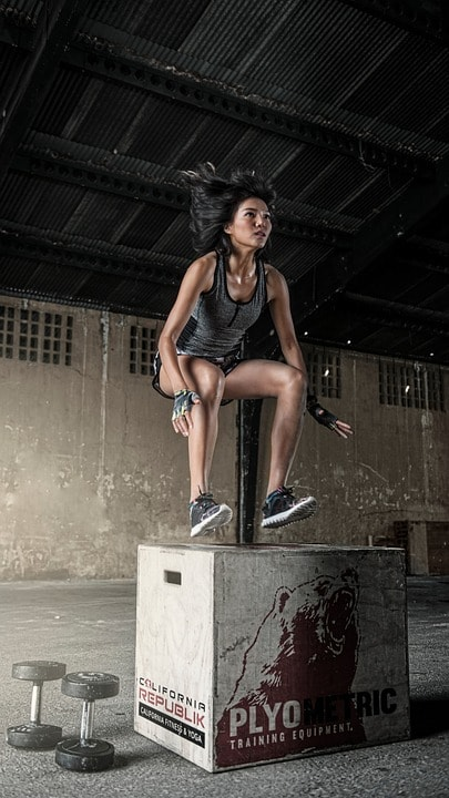 high intensity interval training to burn fat and get toned and ripped