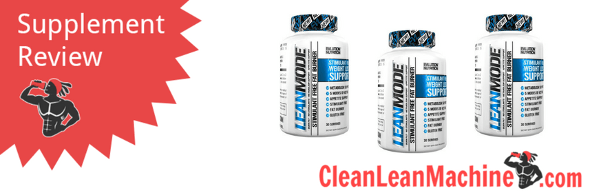 lean mode review, lean mode, fat burner review, fat burner ingredients