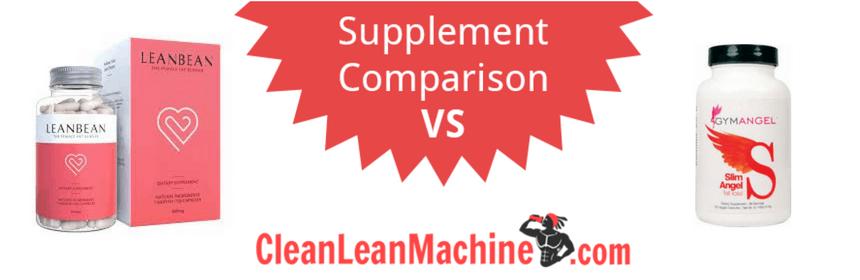 leanbean vs slim angel, slim angel review, leanbean review, female fat burner, compare female fat burners
