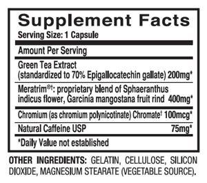 burn HD review of ingredients