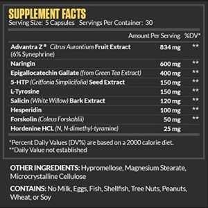 Legion Athletics Phoenix Fat Burner Ingredients
