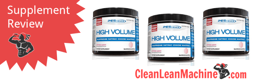 PEScience High Volume Pre Workout Review