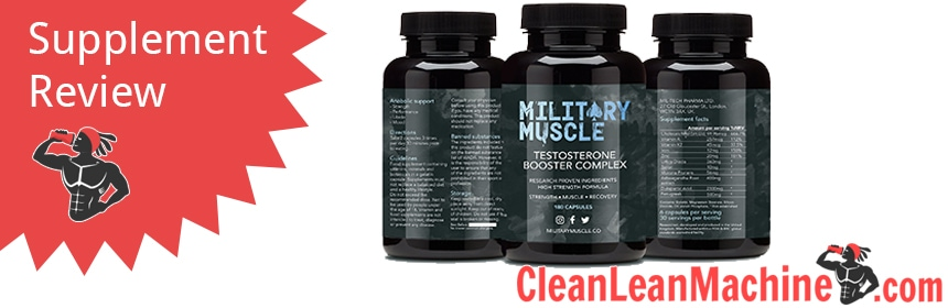 Military Muscle Testosterone Booster Complex by Mil-Tech Pharma Ltd. Review