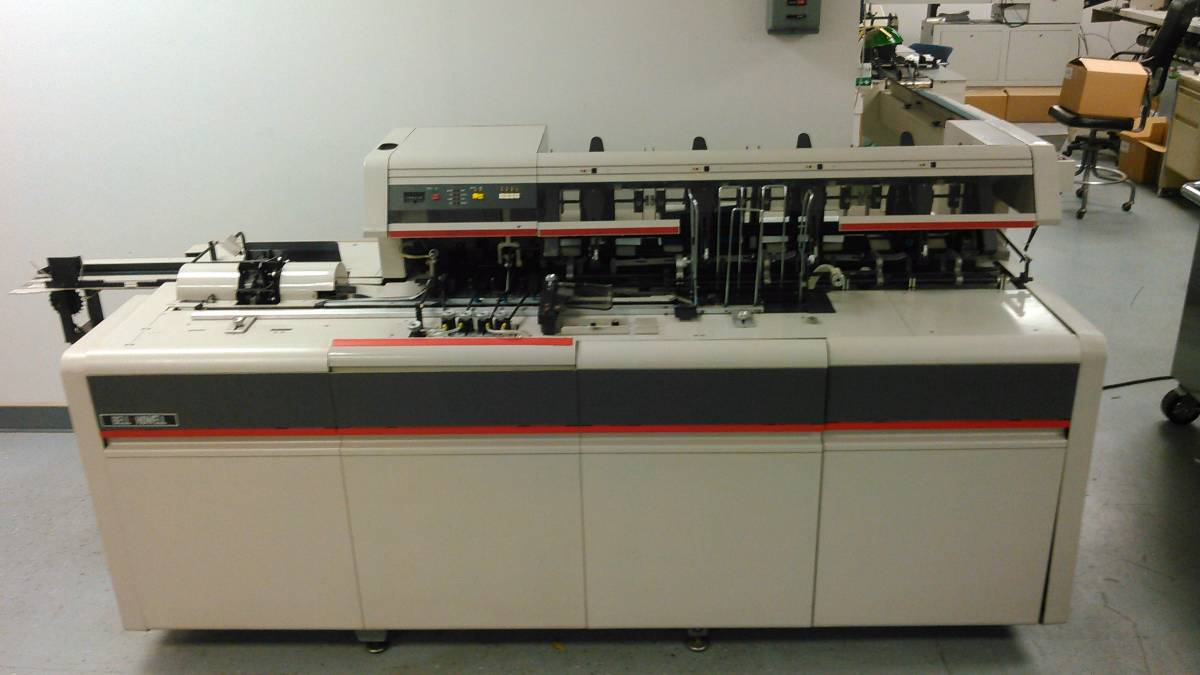 Bell and Howell Mailstar 500 Inserter Used Refurbished