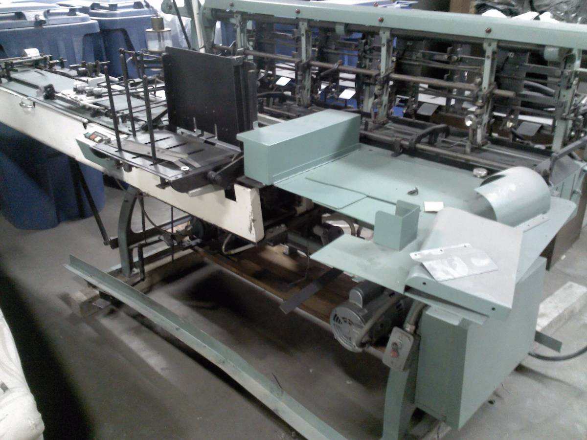 Bell And Howell Mastermailer 9 X 12 Inserter 4 Pocket Used Clean
