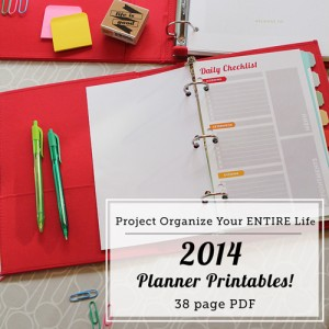 Printable Love Personal Planners