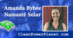 Amanda Bybee of Namaste Solar