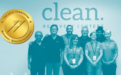 PRESS RELEASE: Clean Recovery Centers Earns Behavioral Health Care Accreditation from The Joint Commission