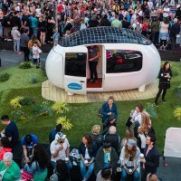 Ecocapsule is duurzame oase van rust op Times Square