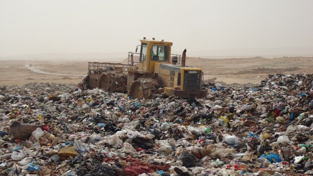 waste dump