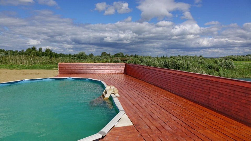 how to cover above ground pool