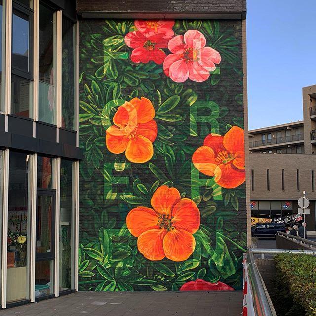 091 003 bloemen muur