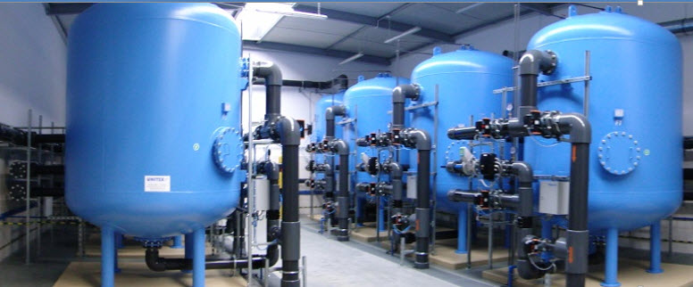 size commercial filtration systems for iron and manganese removal
