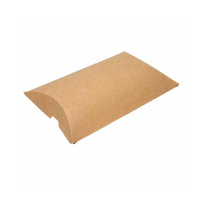 4 x 1 1 8 x 6 kraft pillow boxes 25 pieces kpb77