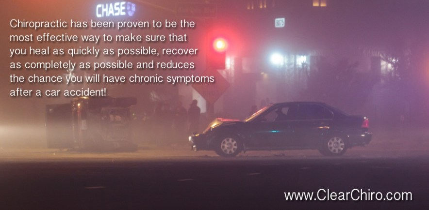 pain relief from auto accident with chiropractic care