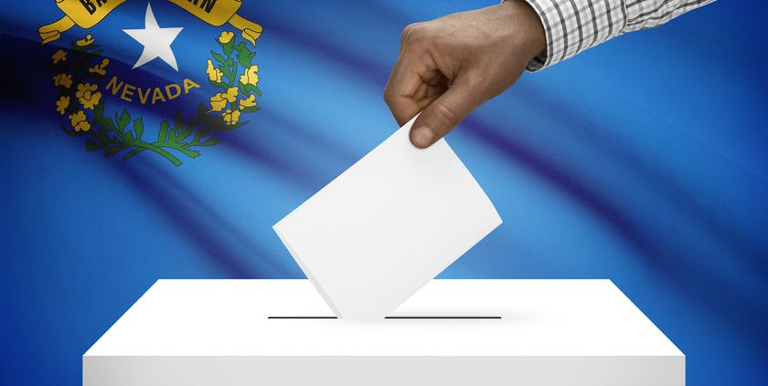 Nevada vote 3rd party las vegas hillary trump