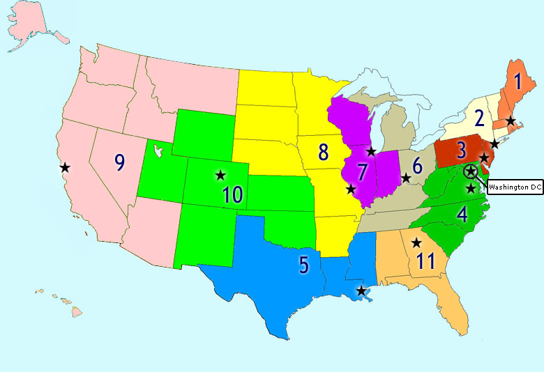 Image result for circuit court map