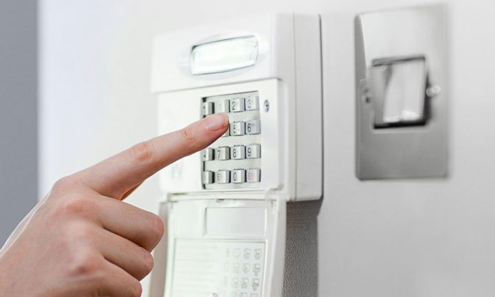 Security Alarm System And Voip