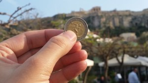 Acropolis, Euro, Greece, Grexit