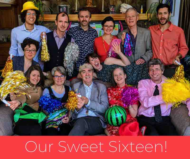 Our Sweet Sixteen - Clear Sky Center