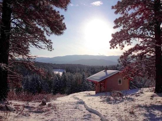 Snow Cabin at Clear Sky Meditation Center