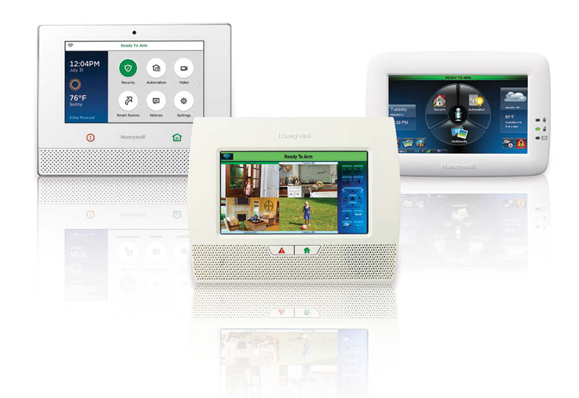 Honeywell Lynx alarm and security systems for home or business