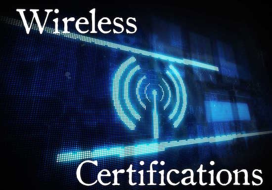 Image of wireless certifications