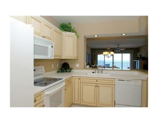 North Redington Beach condo penthouse on the gulf of mexico kitchen