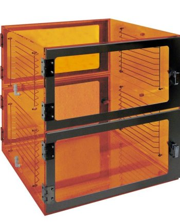 Two door Pass-through-Amber-24x18x32 by Cleatech