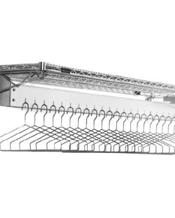Wall Mounted Gowning Rack,Removable Hangers