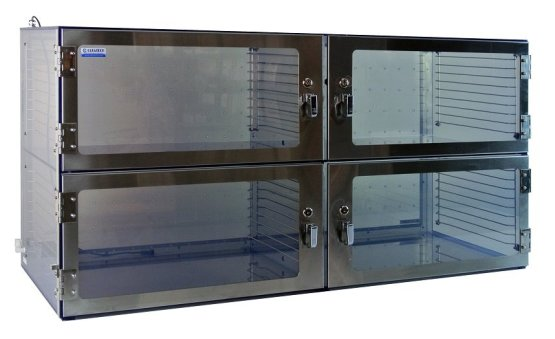 Desiccator Four Door Cabinet 1500 Series - Cleatech
