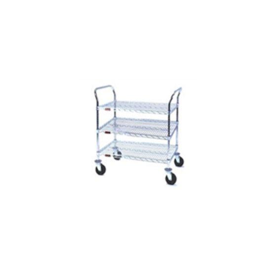 Stainless Steel Utility Carts Three Shelf Units U3 2442s