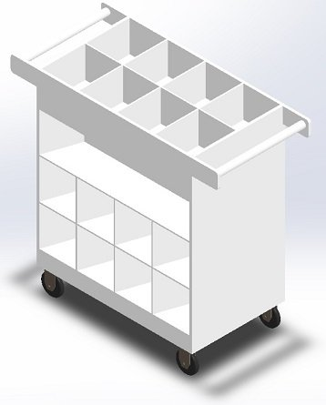 Polypropylene-Transport Cart C