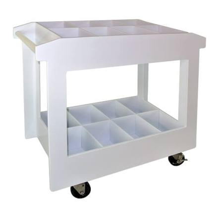 Polypropylene Chemical Carts