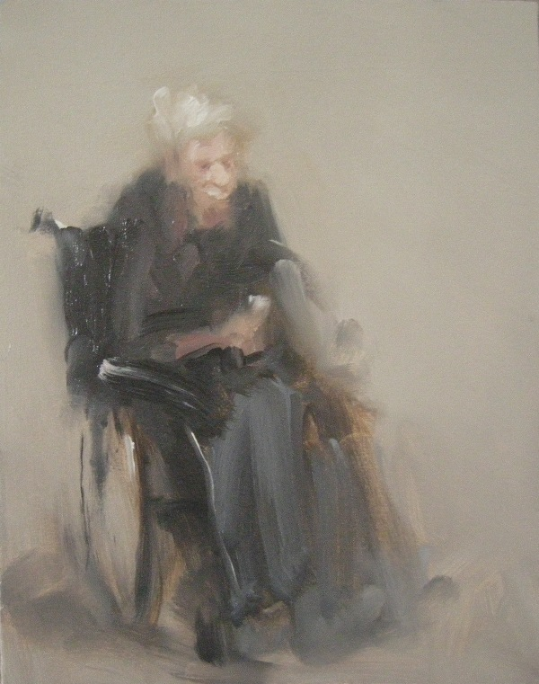 Woman in Wheel Chair